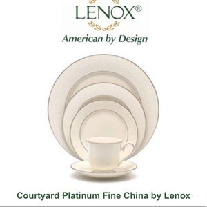 Lenox Courtyard Platinum (12 settings)